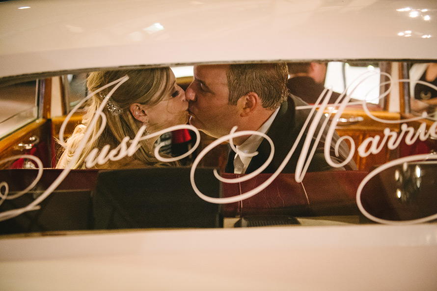 Wedding Exit Photo