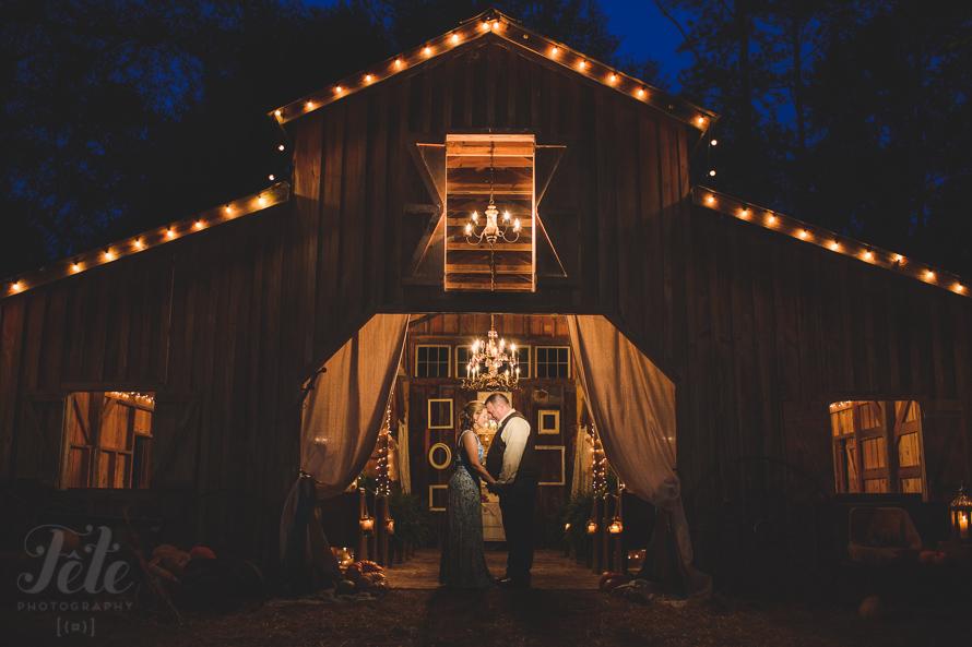 Buie Barn wedding portrait