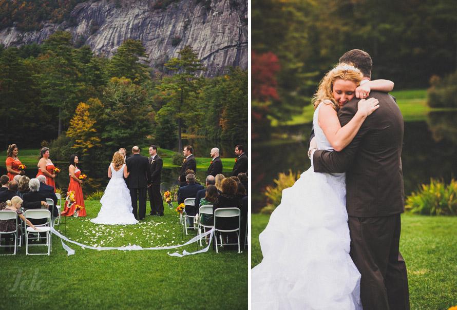 Wedding at High Hampton Inn