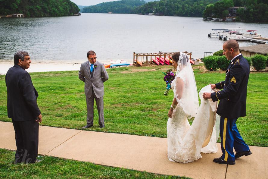 Lake ceremony