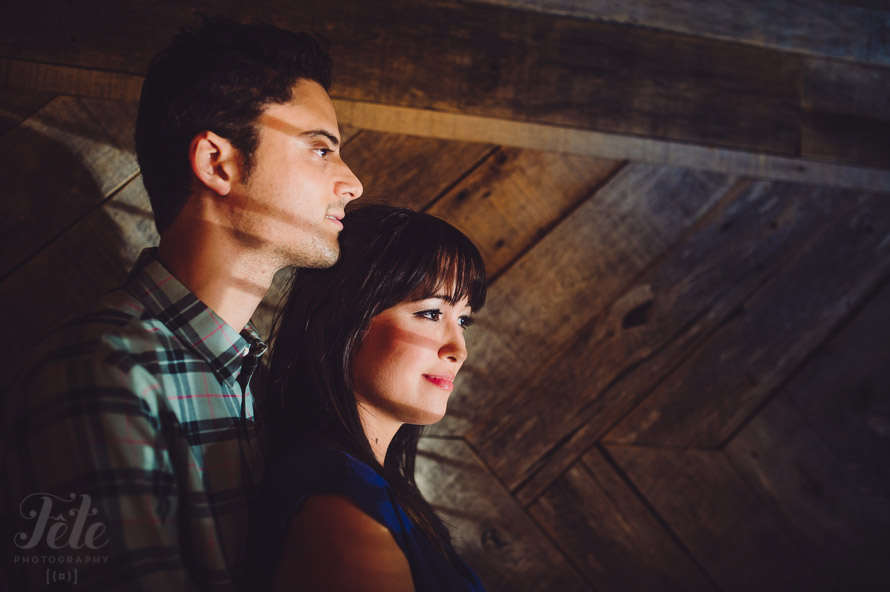 Asheville engagement shoot