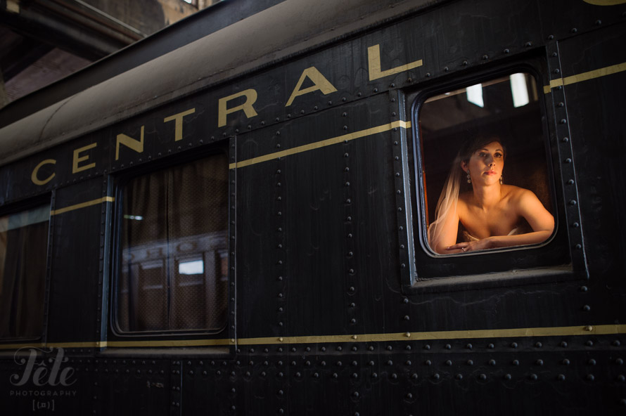 Georgia State Railroad Museum wedding