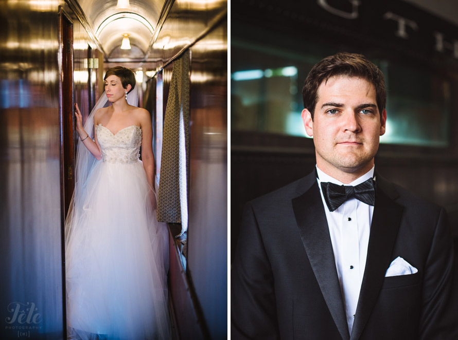 Savannah Railroad Museum wedding