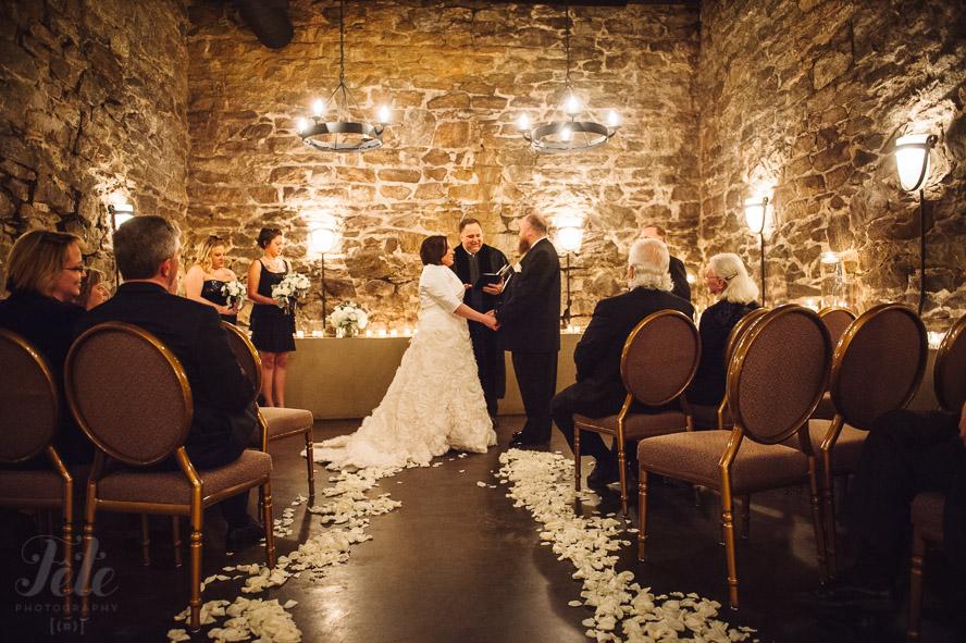 Champagne Cellar ceremony