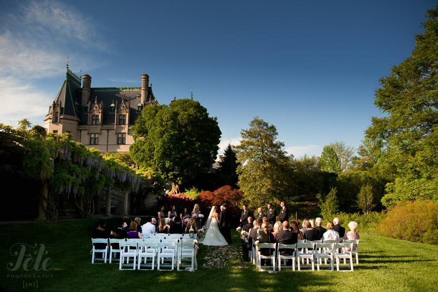 Biltmore lawn wedding