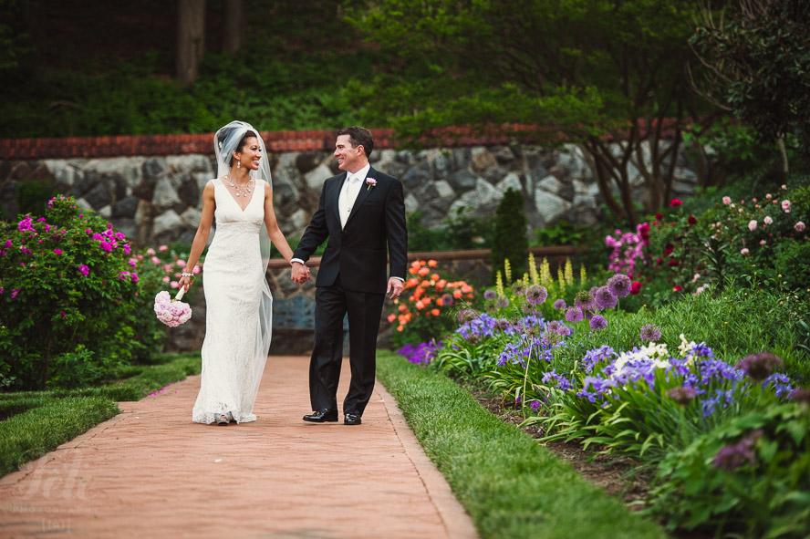 Bride and groom portraiture