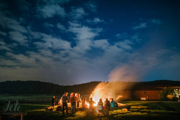Antler Hill Barn Wedding Rehearsal Dinner