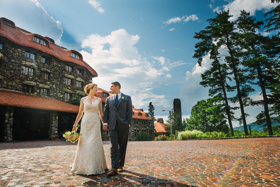 Grove Park Inn wedding photo