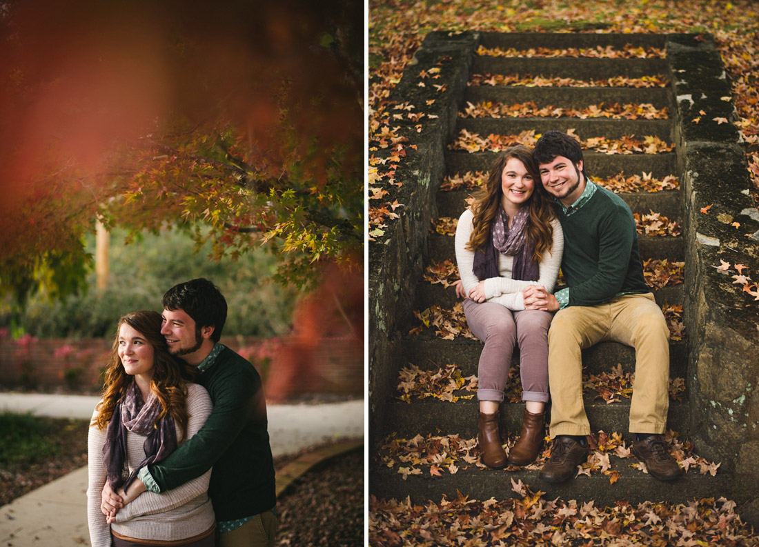 fall engagement in nc