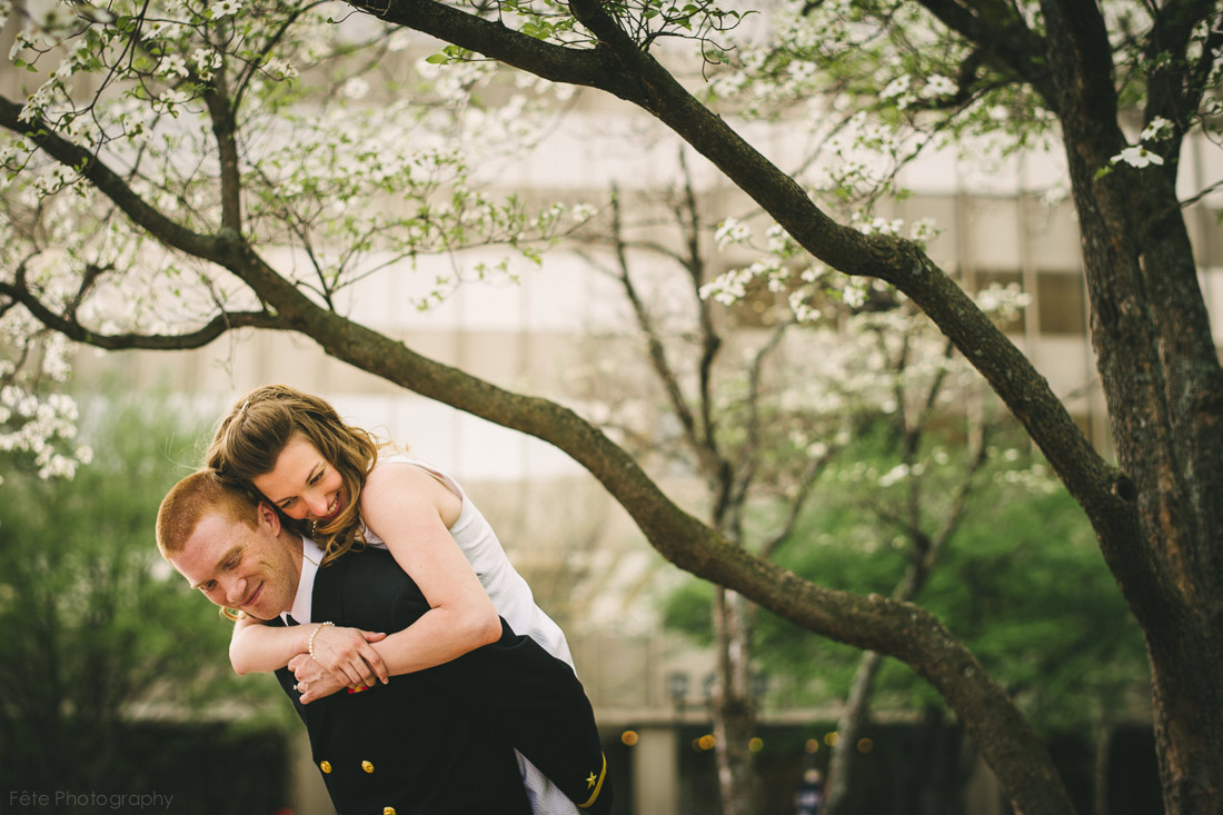 asheville wedding portrait
