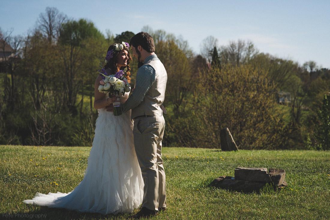 marshall, nc wedding