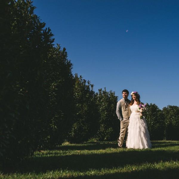 Fontaine Vineyards Wedding in Marshall, NC