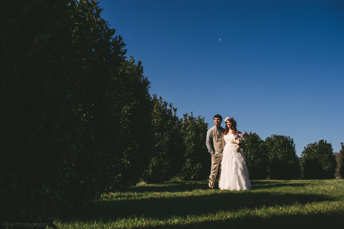 Fontaine Vineyards Wedding in Marshall, NC