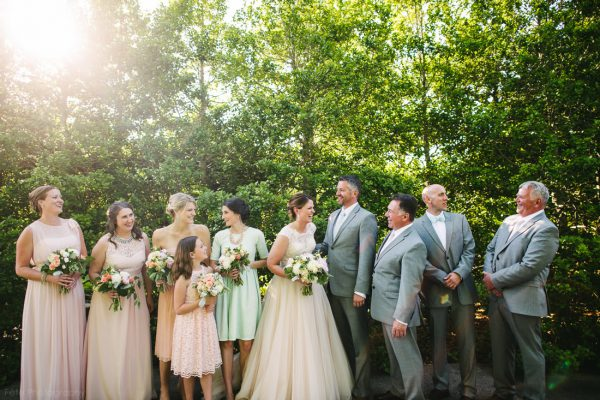 North Carolina Arboretum Wedding in Spring