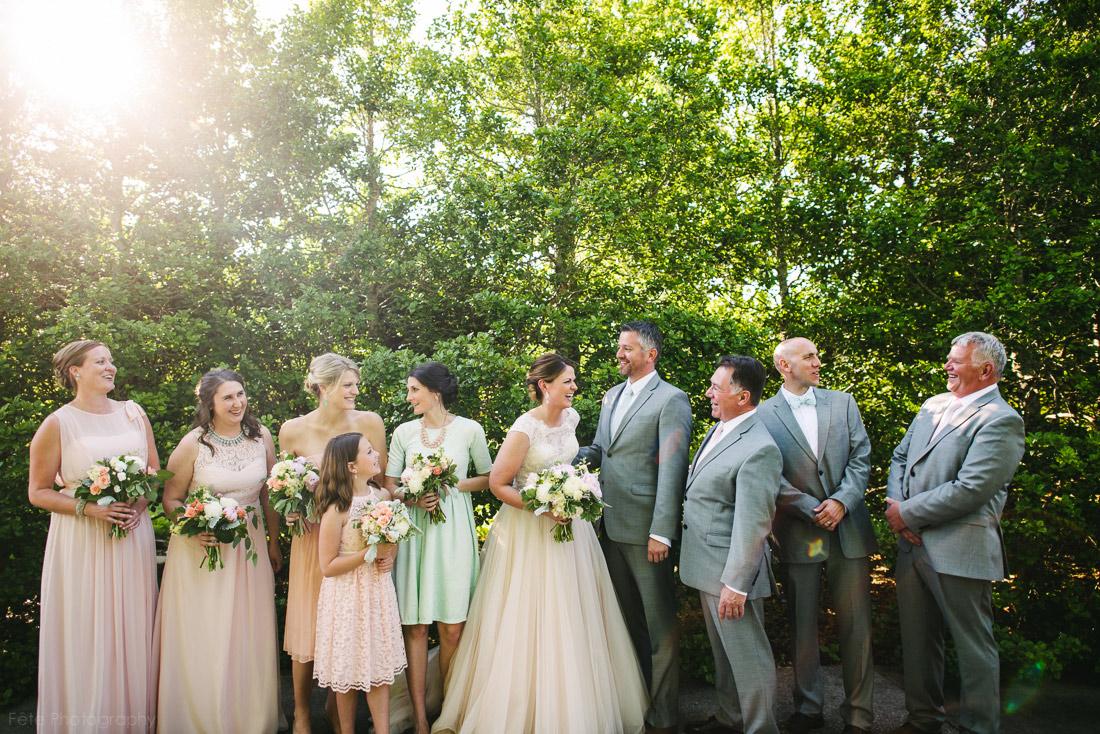 North Carolina Arboretum Wedding in Spring