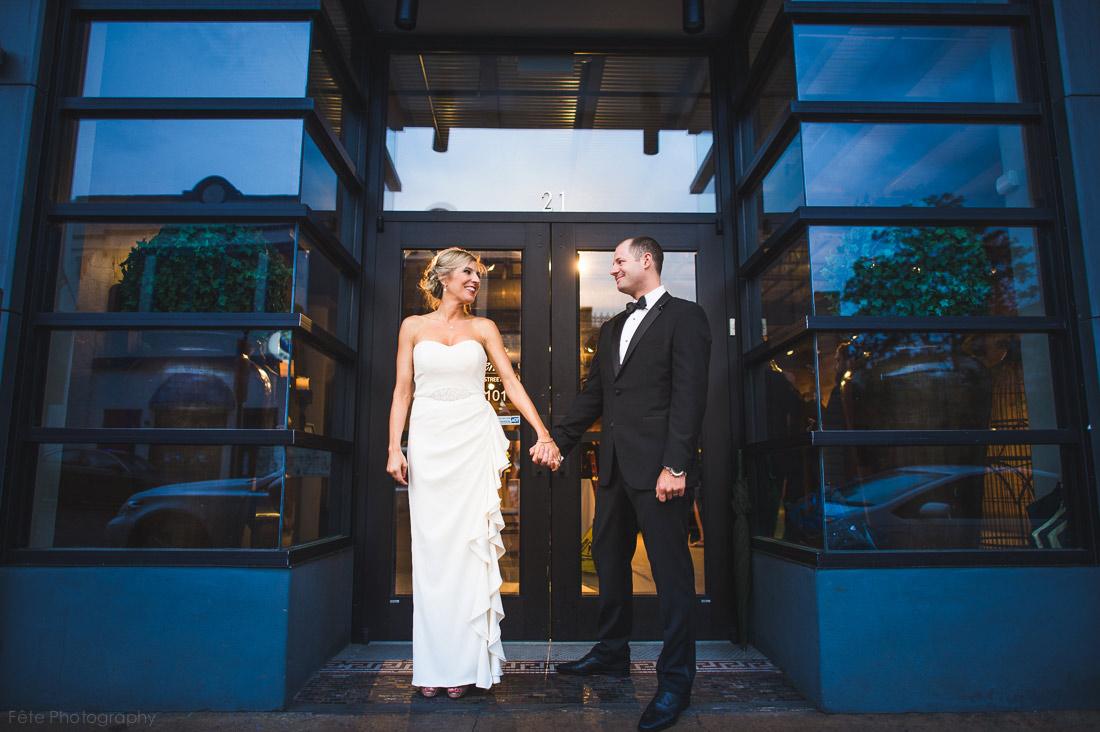 Asheville wedding downtown