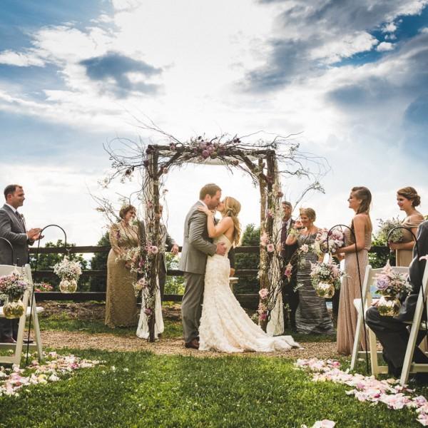 Crest Center & Pavilion Wedding