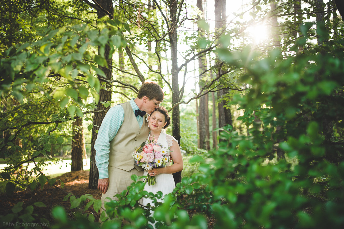 Backyard Wedding in South Carolina