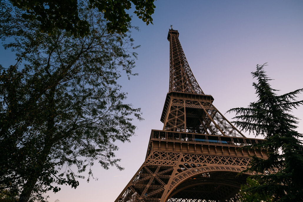 Eiffel Tower by Fete Photography