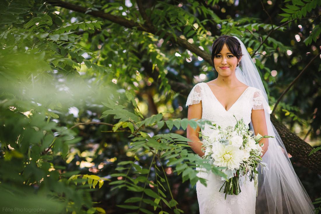 Claire, bridal portrait