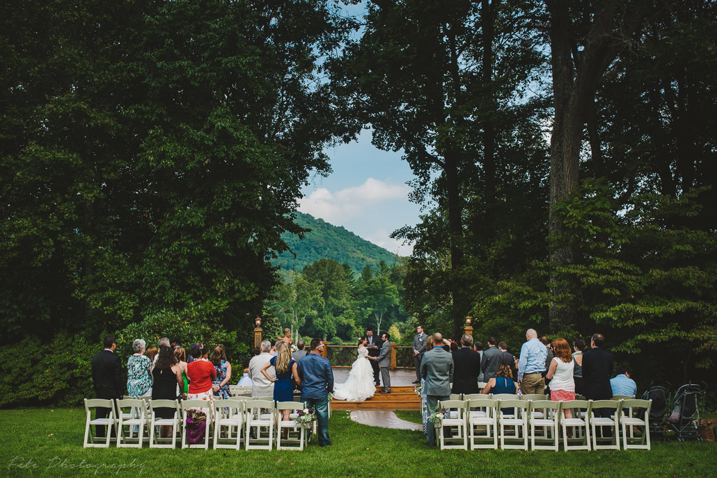 Lake Eden Events wedding in Black Mountain