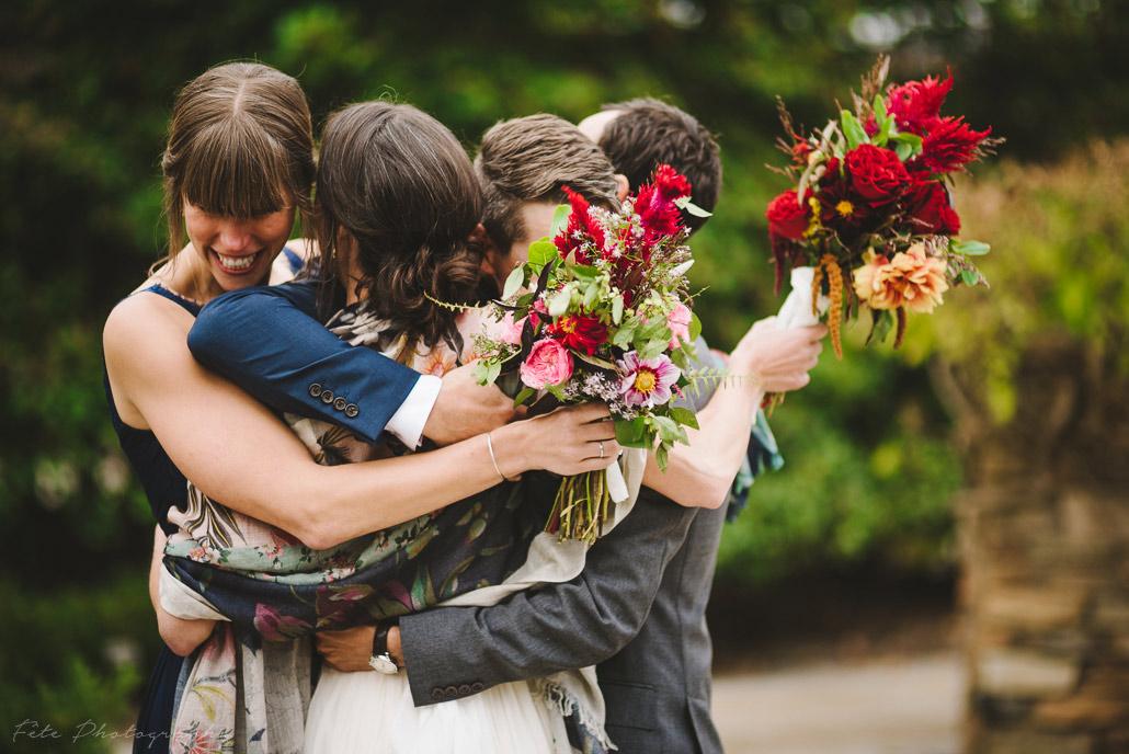 Wedding photojournalistic style