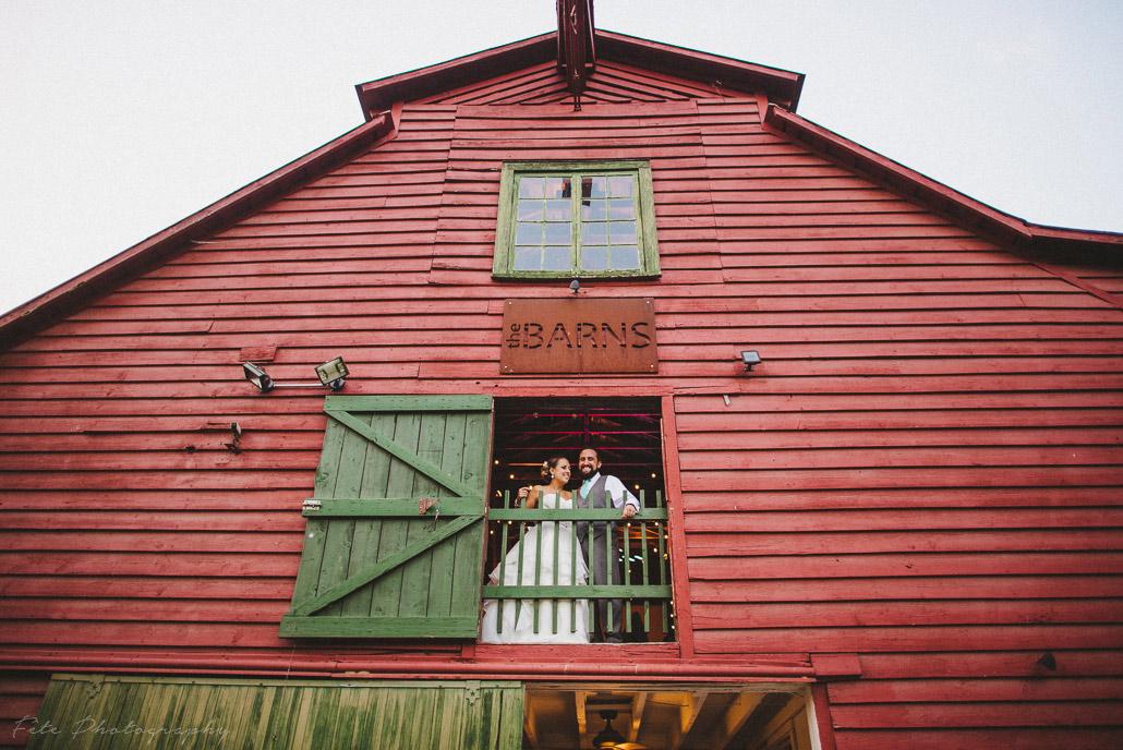The Barn portrait