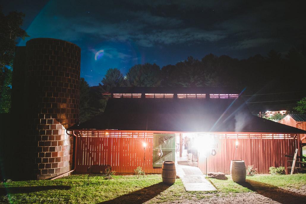 Lake Eden Events barn