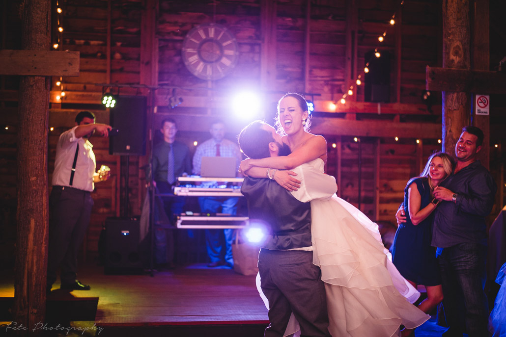 Awesome wedding reception photography