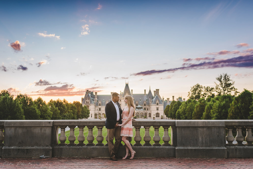 Engagement Session at Biltmore Estate