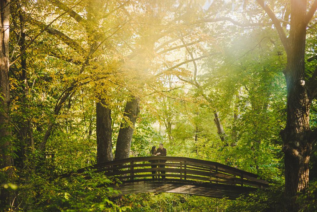 Botanical Gardens engagement