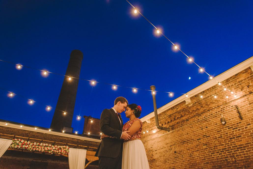 Cloth Mill Wedding portrait