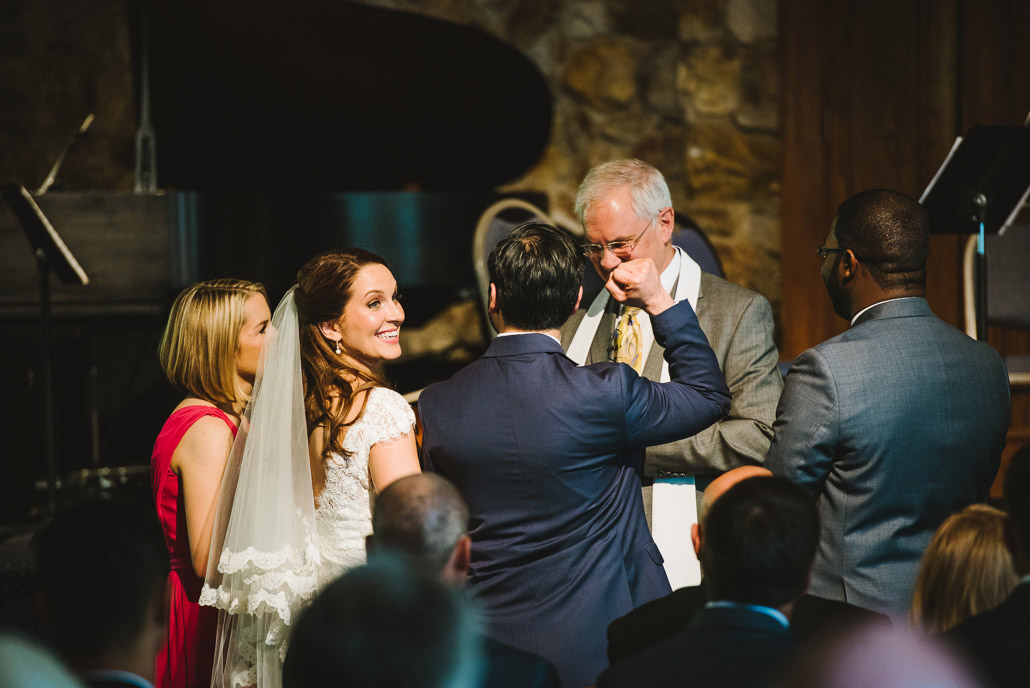 Montreat college wedding