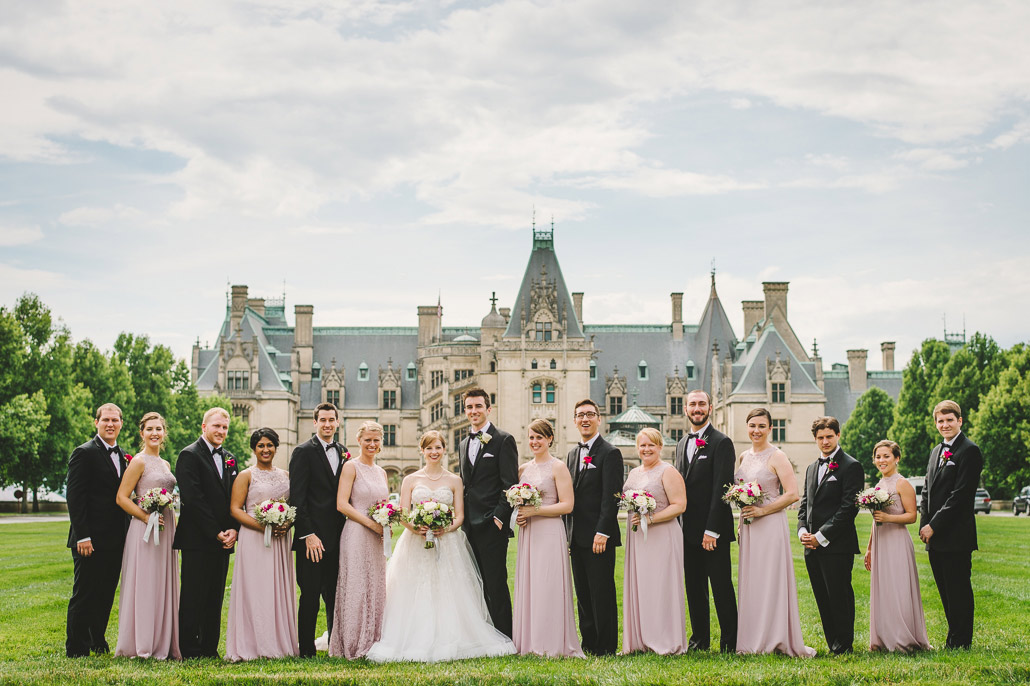 Biltmore bridal party