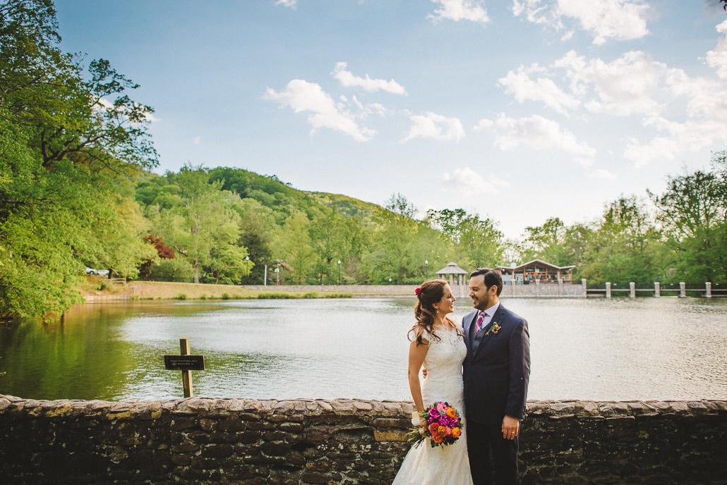 Montreat college wedding photo
