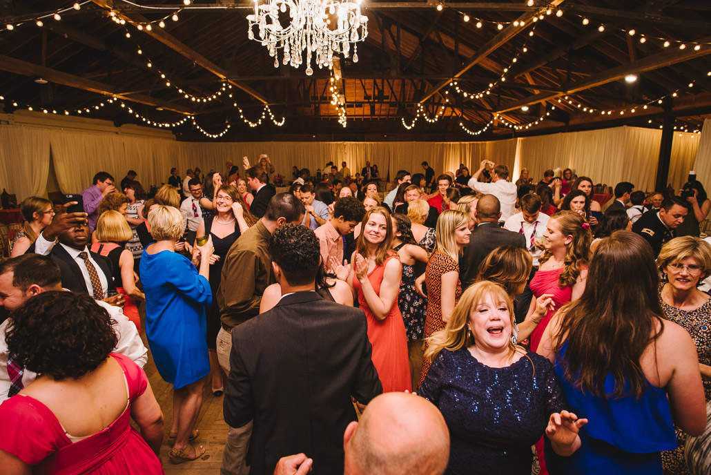 montreat barn wedding