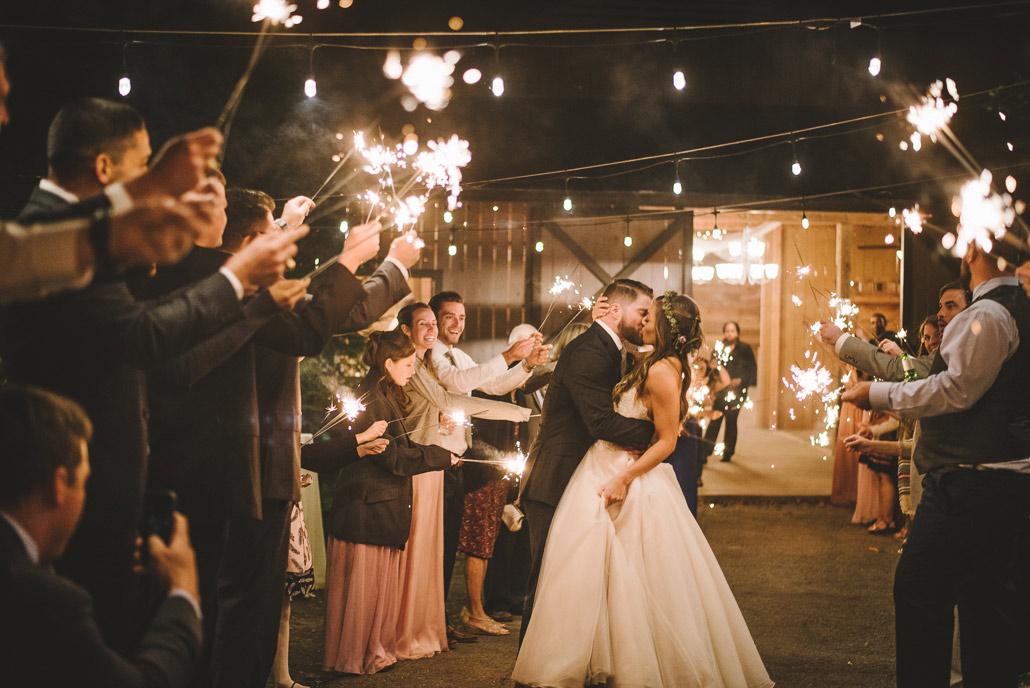 28-outdoor-asheville-wedding-sparkler-exit