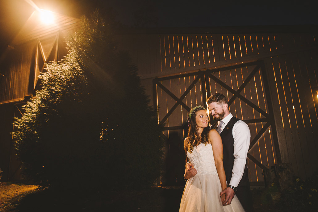 rustic wedding photograph