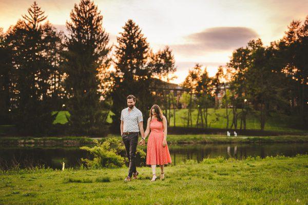 Vassar College Engagement Shoot in New York
