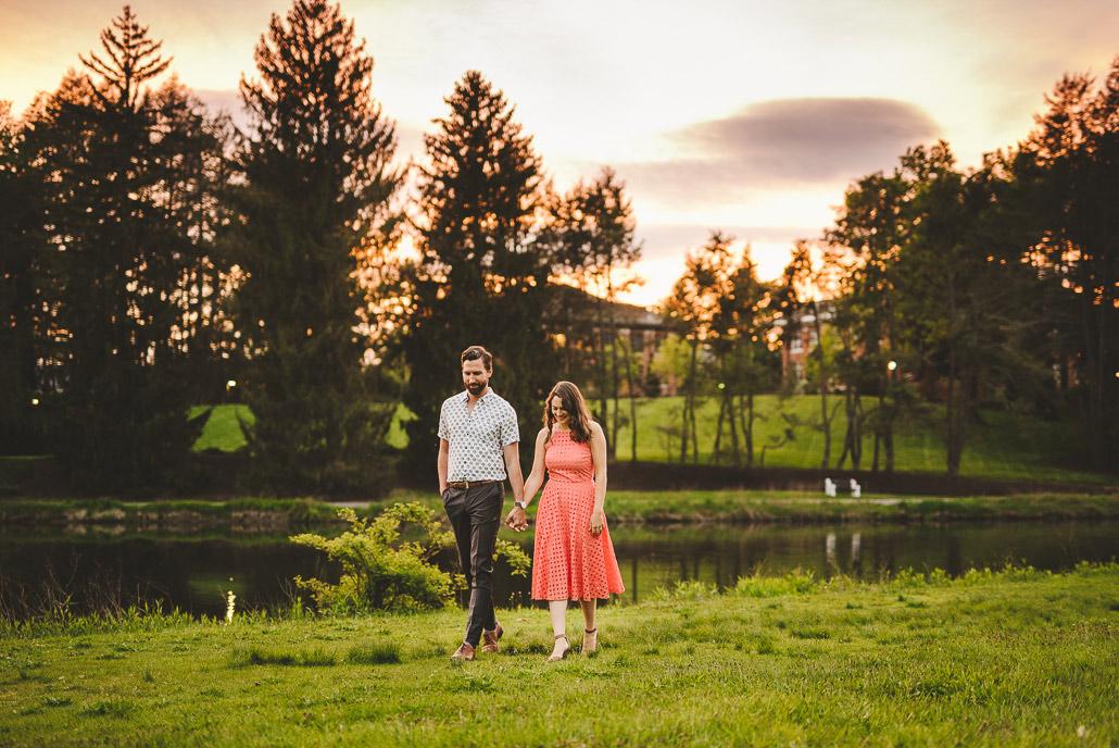 Sunset Lake at Vassar