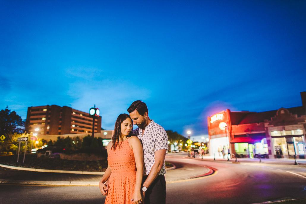Poughkeepsie engagement shoot