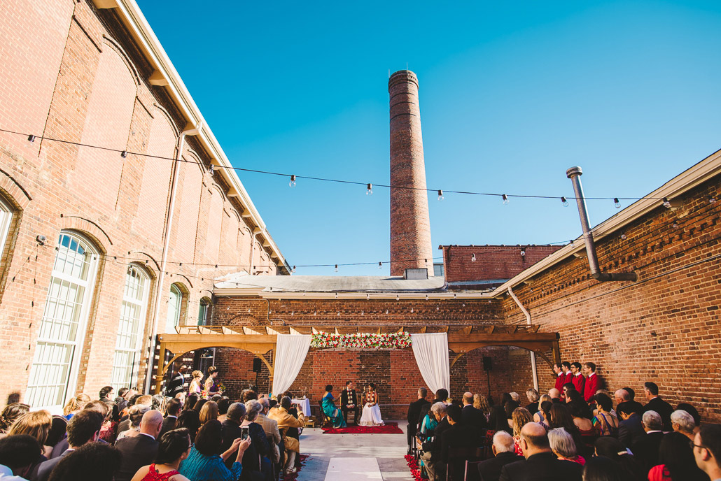Weddings at Cloth Mill at Eno River