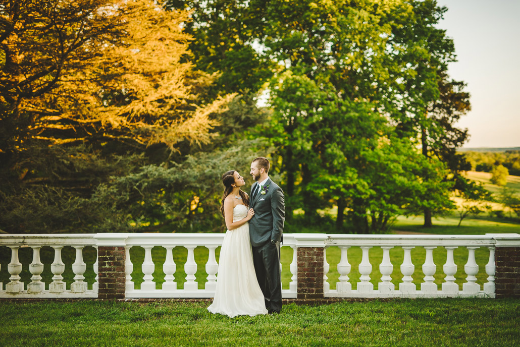Leesburg wedding at Oatlands