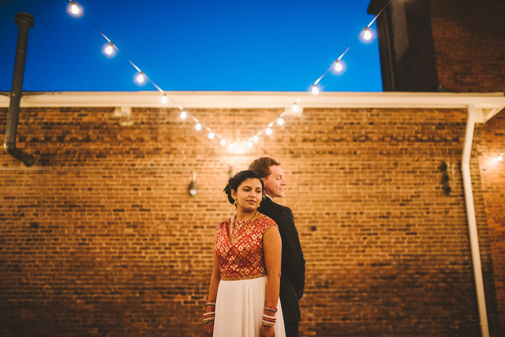 North Carolina wedding portrait