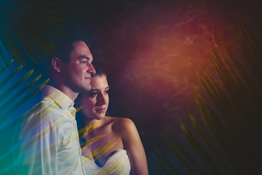 Fine art wedding photo