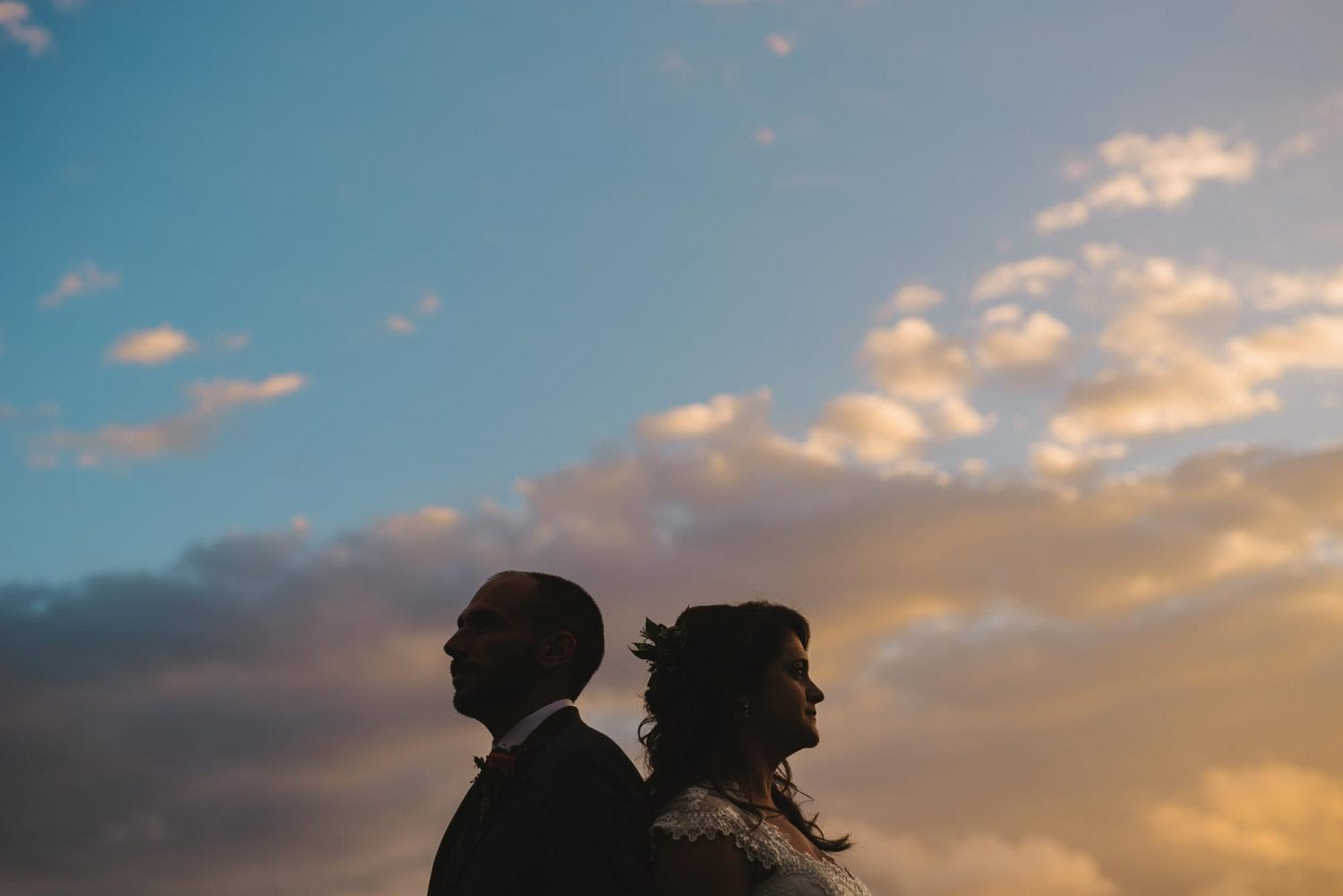 Silhouette weddings