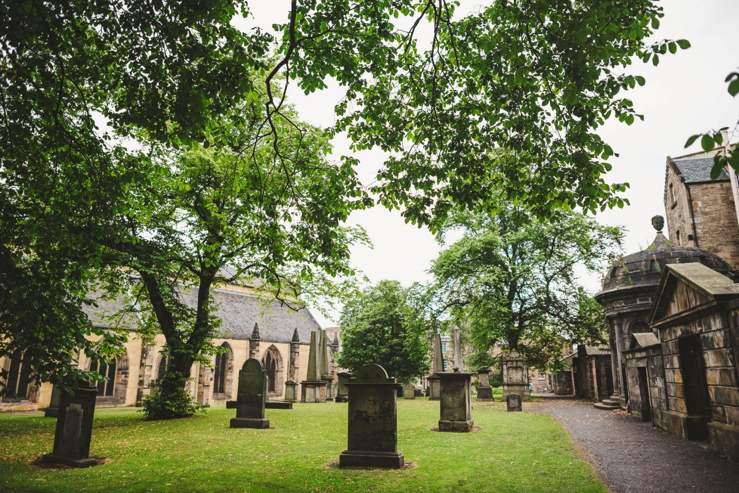 Greyfriars Kirk in Edinburgh
