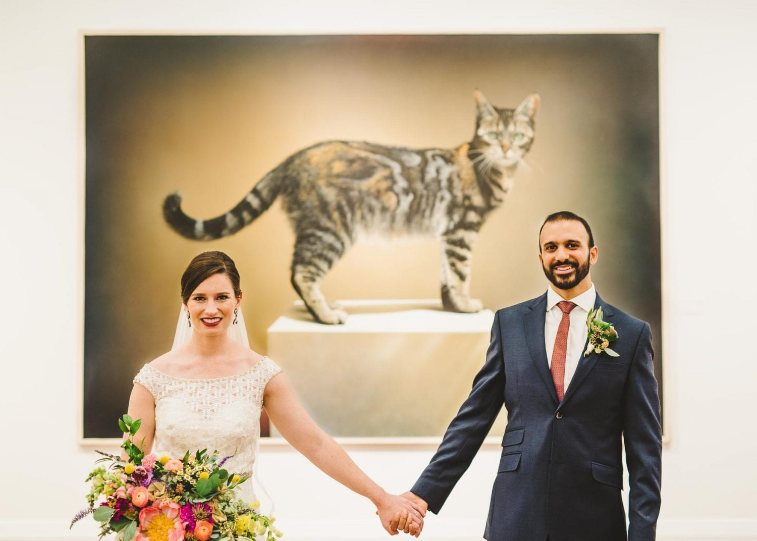 Art museum weddings