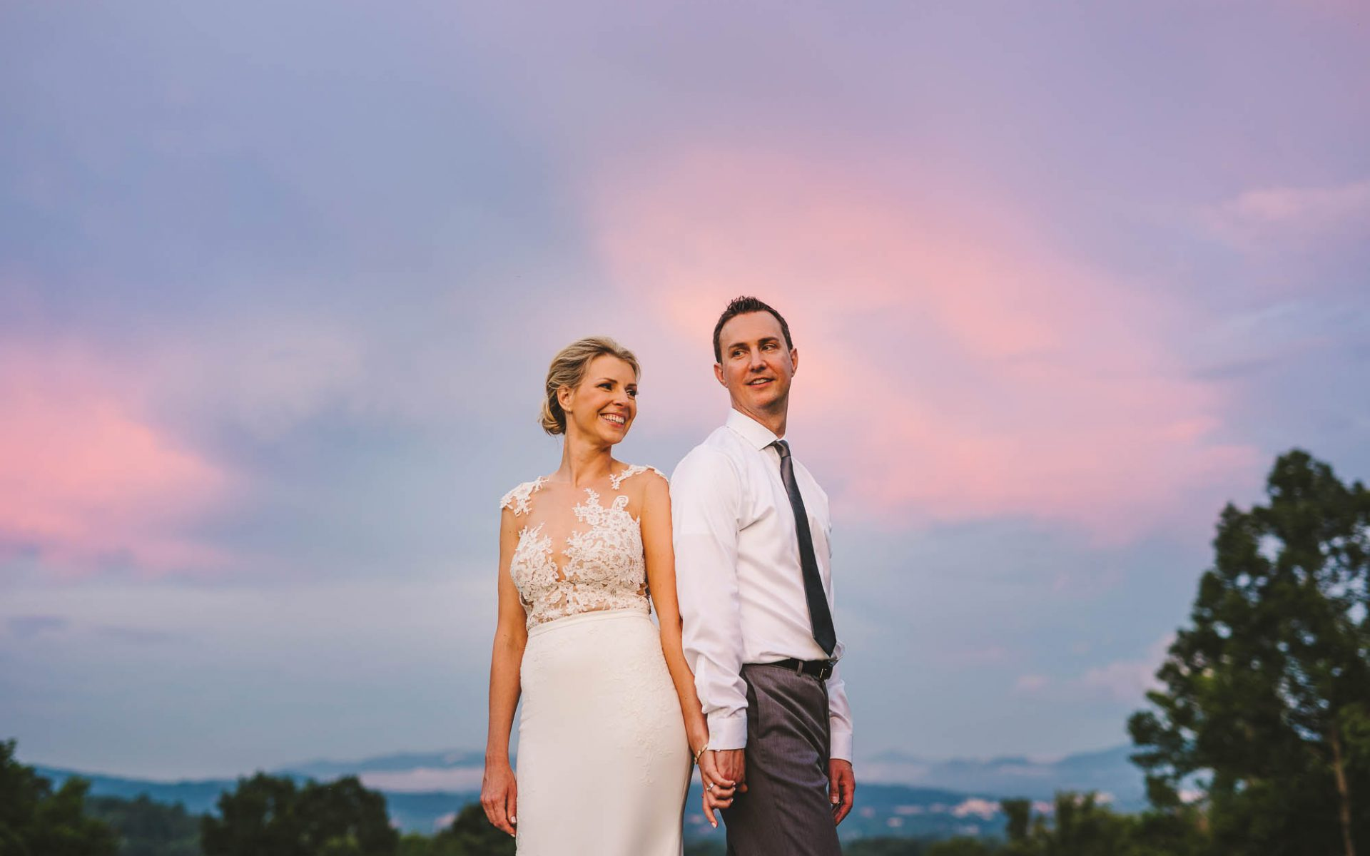 Crest Center Wedding in Asheville, NC