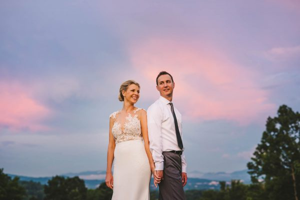 Crest Center Wedding in Asheville, NC